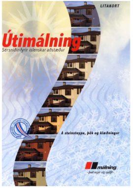 Útimálning - Litakort 2014